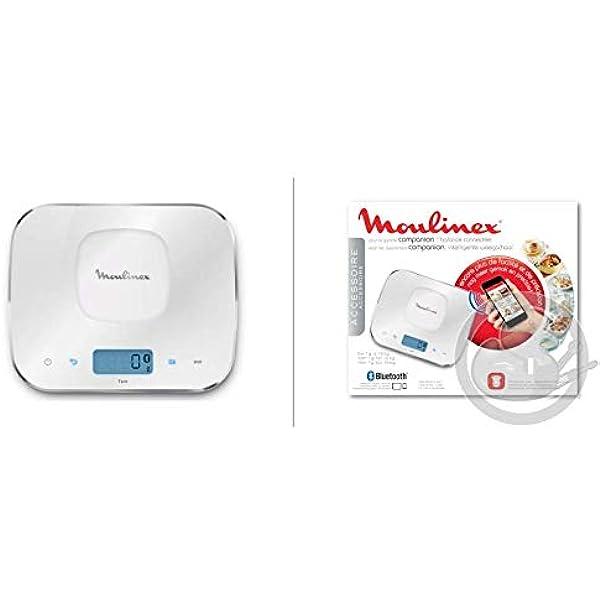Moulinex Báscula Alimentos Bluetooth 2018 Cuisine Companion Cuco HF800 HF900: Amazon.es: Hogar