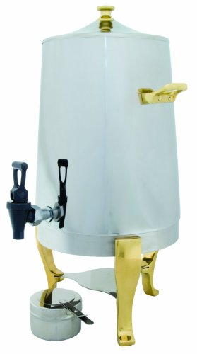 Crestware Gold Accented Coffee Urn by Crestware