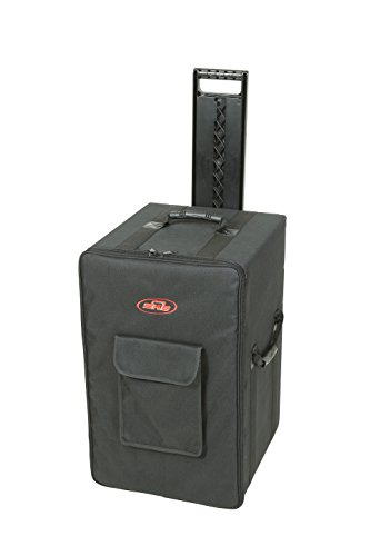 SKB 1SKB-SCPS2 24 x 14.25 x 15 Inches Powered Speaker Case with Wheels and Handle by SKB
