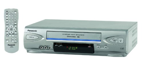 Panasonic PV-V4523S 4-Head Hi-Fi VCR (2003 Model) by Panasonic