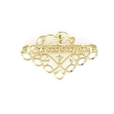 Epingle 14 Carats Pendentif JewelryWeb Grandma