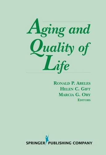 Aging and Quality of Life (Springer Series on Life Styles and Issues in Aging) by Brand: Springer Publishing Company