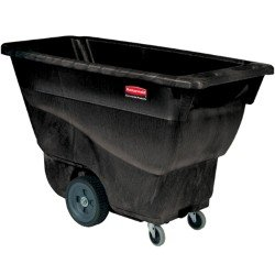 Rubbermaid Commercial Polyethylene Box Cart, 450 lbs Load Ca