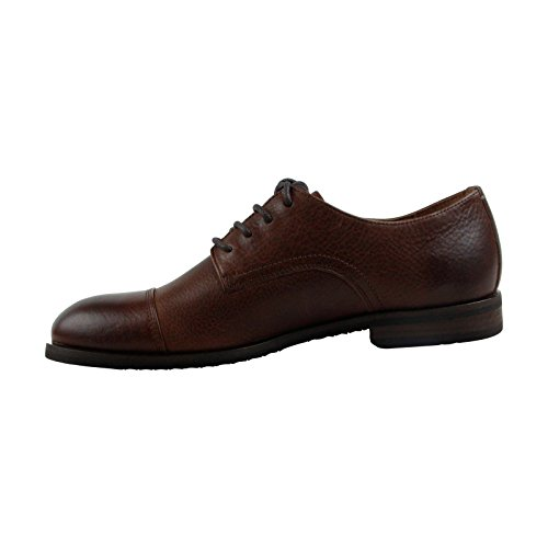 Frye Scott Cap Toe Mens Casual In Pelle Marrone Con Stringate Scarpe Oxford