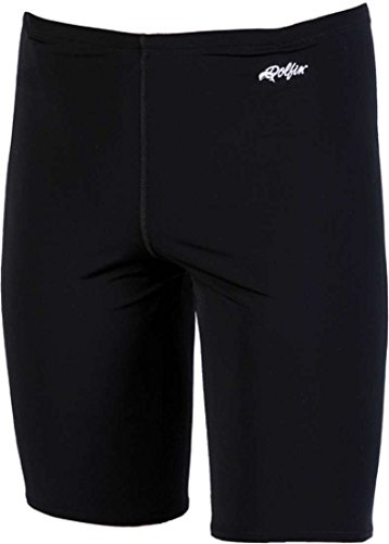 Dolfin Mens Xtra Life Lycra Jammer Solid Black Size 32 ()