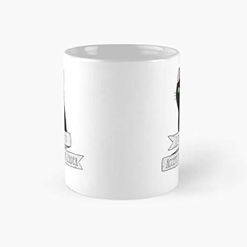 Salem Saberhagen Mug, black cat Cup, 11 Ounce Ceramic Mug, Perfect Novelty Gift Mug, Funny Gift Mugs, Funny Coffee Mug 11oz, Tea Cups -