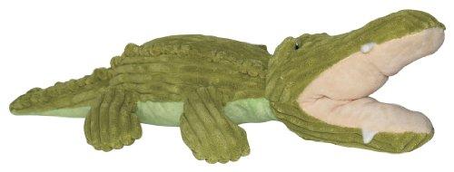 Hagen Dogit Luvz Plush Toy, Green Crocodile, My Pet Supplies