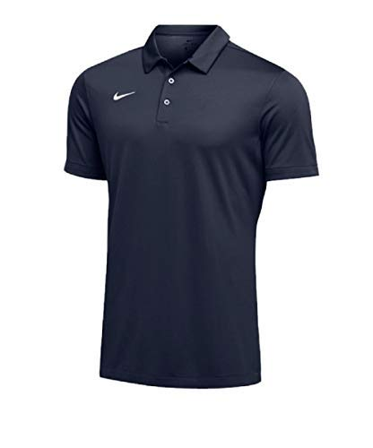 Nike Mens Dri-FIT Short Sleeve Polo Shirt (Small, Navy)