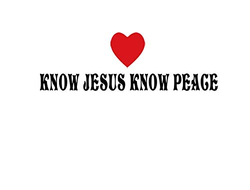 Top 10 recommendation know jesus know peace decal for 2020