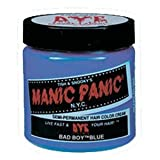 Manic Panic Semi- Permanent Hair Dye Bad Boy Blue