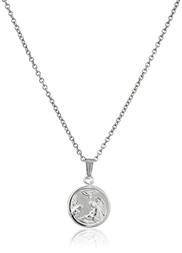 Sterling Silver Childrens Guardian Pendant