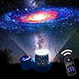 Star Night Lights for Kids, Remote Control Star Projector, with LED Timer, 360°Rotating Planet Night Lighting Lamps Starry Galaxy Sky Projection for Baby Bedrooms (Remote Flim-6 Set)