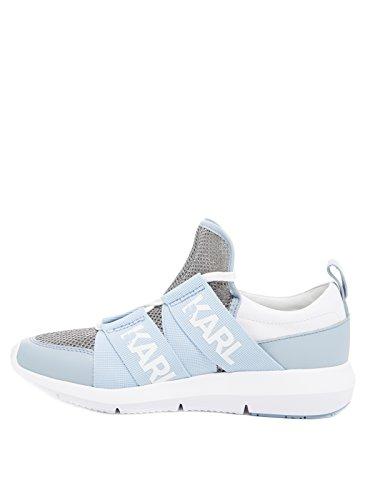 Karl Lagerfeld Shoes Sneaker Donna Kl61120 Azzurro Blu Chiaro Donna, Misura Della Scarpa: Eur 41