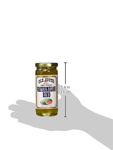 Antiguo sur Sweet Pickled Watermelon Rind de 10 oz Jar (6 ...