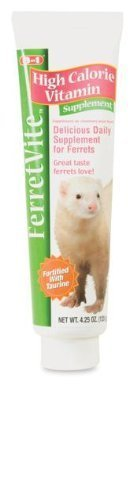 8in1 FerretVite Vitamin Paste, 4.25-Ounce, 4.2 x 4.5 x 6.8 inches by eCOTRITION
