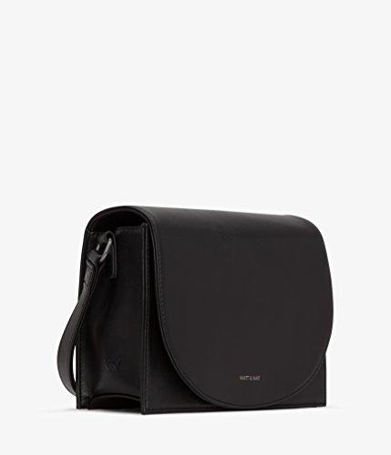 amp; Nat Black Calla Collection Handbag Matt Black Loom g4wSddq
