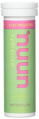 Nuun Active: Watermelon Electrolyte Enhanced Drink Tablets (3 Tubes of 10 Tabs)