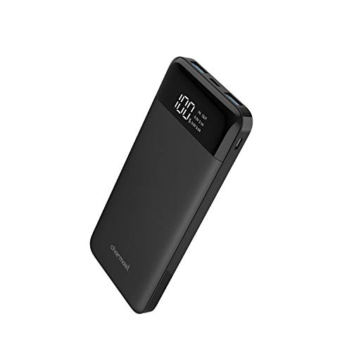 Charmast USB C Phone Portable Charger 10400mAh Battery Pack Slim Power Bank Cellphone Charger Compatible with iPhone, Samsung, Huawei More