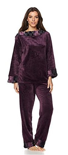 adrienne-landau-stylish-pajamas-with-faux-fur-trim-plum-chincilla-2x