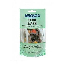 Nikwax Tech Wash Pouch 100ML Waterproof Clothing Tents Rucksacks ...