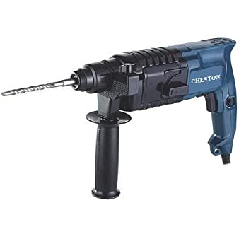 Cheston Rotary Hammer Drill Machine 20MM 500W 850RPM with 3-Piece Drill Bit