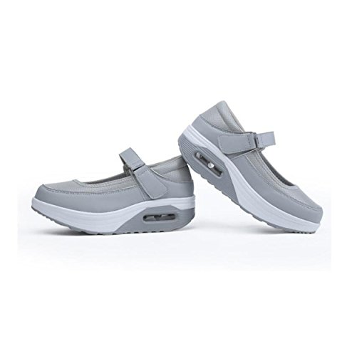 Low Sports Women's Shoes Shoes GRRONG Gray aYtqx