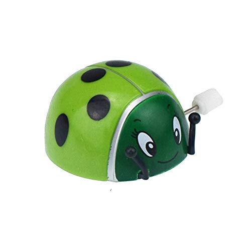 Theshy 1 Pcs Dazzling Bounce Toys Flipping Wind-up Lady Bugs Great for Parties and FA Learning Educational Toys Gift for Kids and Adults ()