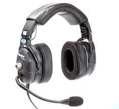 Telex Stratus ANR 50-D aviation headset