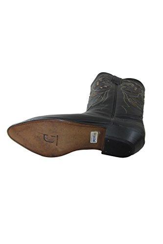 Boots Vintage Black Charro El Leather Women 1253 8p5Pq