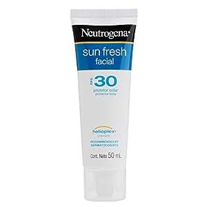 Protetor Solar Facial Sun Fresh FPS 30, Neutrogena, Branco, 50G