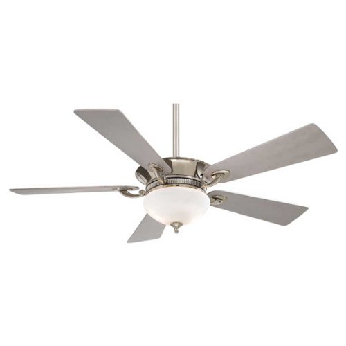 Minka-Aire F701-PN, Delano, 52 Ceiling Fan with Light & Wall