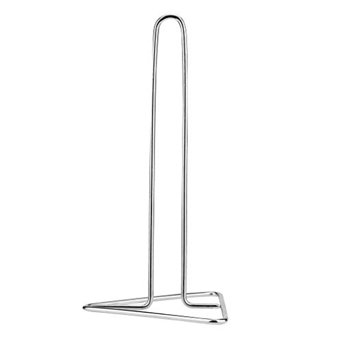 UMFun Diversified Paper Towel Holder Toilet Roll Paper Towel Rack Stand Holder Dining Silver
