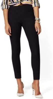 New York /& Co Womens Petite Whitney High-Waisted Pull-On Ankle Pant