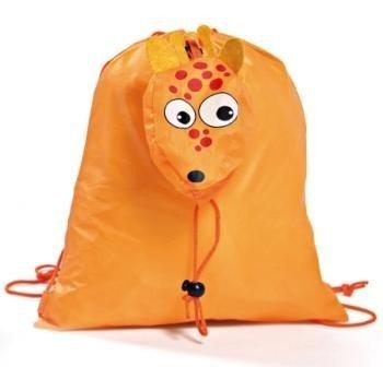 Lote de 20 Mochilas Plegables Animales Naranja Jirafa - Mochilas para Niños, Guarderías, Colegios, Ofertas, Baratas: Amazon.es: Hogar