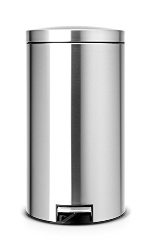 Brabantia Pedal Bin Recycle Silent with Inner Bucket- Fingerprint Proof - 2 x 20 Litre