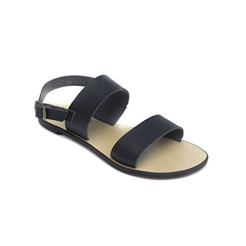 nae Oxia - Women Vegan Flat Sandals | Made of Ecological, Breathable and Anti-Allergy Microfiber