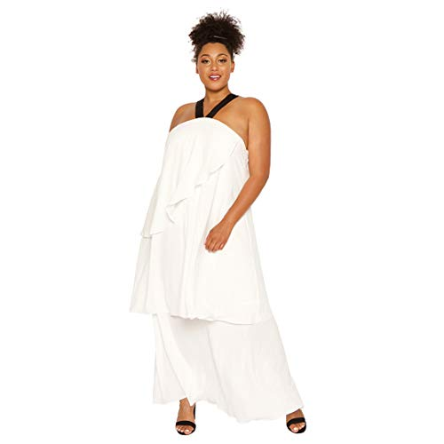 Astra Signature Women' s Sexy Plus Size Sleeveless