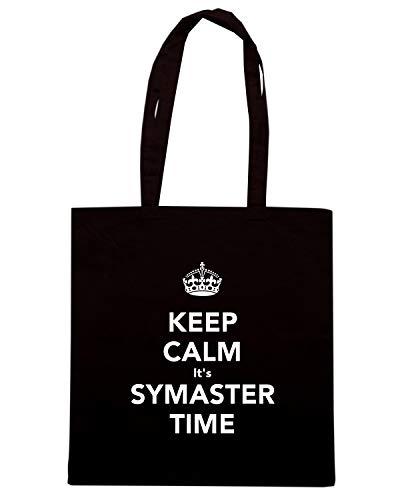 Speed IT'S SYMASTER Nera Shopper KEEP TKC2741 CALM TIME Borsa Shirt wPFqw7a