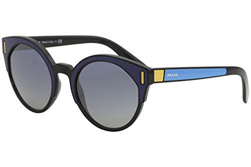 Prada Women's Colorblock Sunglasses, Blue Multi/Blue, One - Glasses Prada Blue