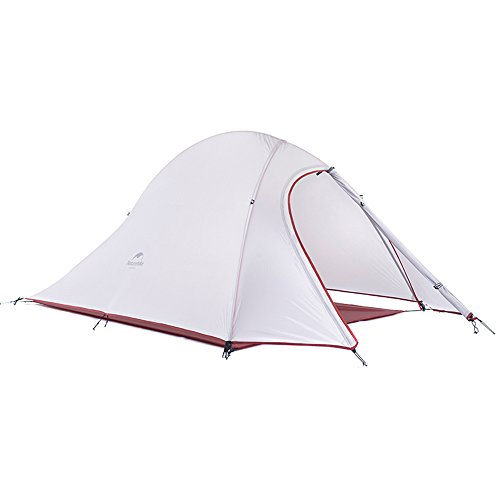 Docooler Camping Tent Layer 2-3 Person 3 Season Aluminum Rod Double Skylight Poles Tent UV Protection
