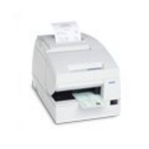 Epson TM-H6000III Multistation Printer. TM-H6000III-S01 SER EDG W/MICR TM-H6000III-S01 NO PWR SPLY RP-TR. Dot Matrix, Thermal Transfer - Serial - MICR, Drop-in Validation by EPSON
