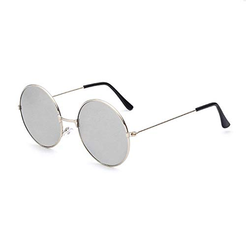 (KATCOCO John Lennon 60's Hippie Circle Sunglasses punk Round Retro)
