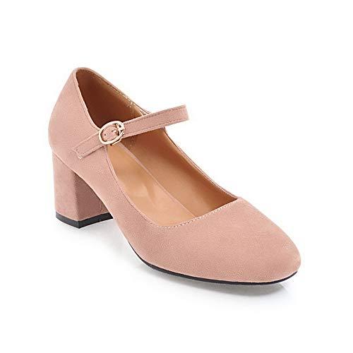 Sandales Compensées Femme APL10427 Rose BalaMasa zXHOqRx6w6