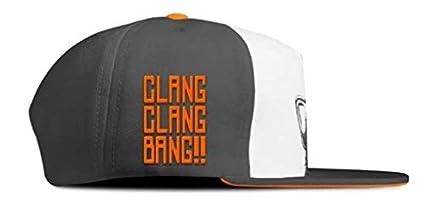 Amazon.com  Call of Duty Official Monkey Bomb Clang Clang Bang!! Snapback   Clothing f02b26844486