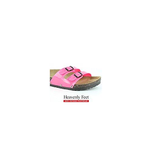 Heavenly Feet - Sandalias de vestir de Material Sintético para mujer Hot Pink