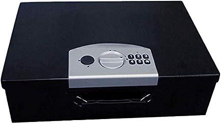 DBSCD Seguridad Caja Fuerte Portátil Código de Seguridad electrónica Caja de Dinero Negro 45 * 32 * 13 cm Caja Fuerte: Amazon.es: Hogar
