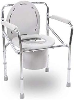 ZLSANVD Bewegliche Toilettensitz, Edelstahl, robust und langlebig, sicher und stabil, Use Area, Badezimmer, Wohnzimmer, Krankenhaus