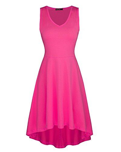 hot pink dress - 8