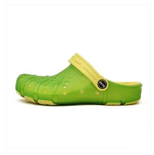 Taille Yingsssq Sports Chaussures Pour 40 Heels Vert Rose Sandals coloré Slipper D'été 36 Beach Tous Les Bleu r6Txqz6