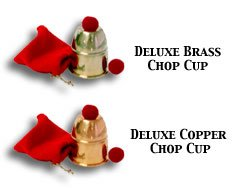 Chop Cup Brass - Chop Cup Bazar Magic Brass